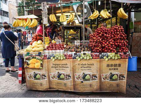 Street Market In Chinatown, Kuala Lumpur, Malaysia