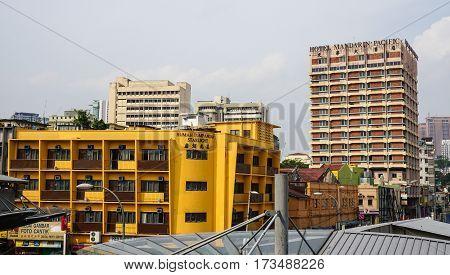 Buildings In Kuala Lumpur, Malaysia