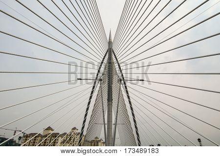 Seri Perdana Bridge In Putrajaya, Malaysia
