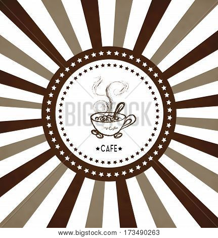 Concept image of coffeehouse restaurant menu cafe coffee shop