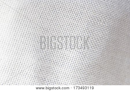 White Sackcloth Texture For Background