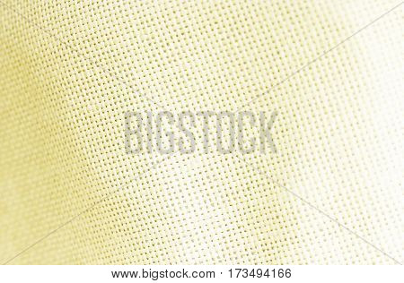 Ligth Yellow Sackcloth Texture Or Background And Empty Space