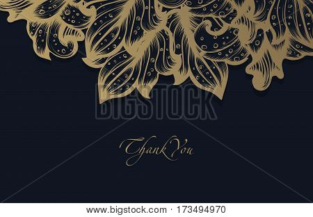 Hand Drawn Sketch Spring Vintage Floral Vector Design With Flowers And Leaves