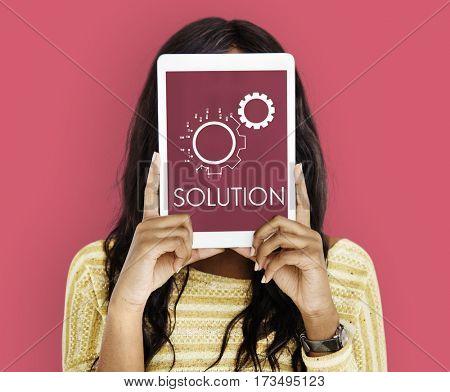 Configuration Operation Plution System Icons Symbols