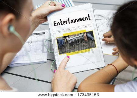 Entertainment Broadcast Streaming Digital Media