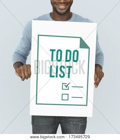 Planner To Do List Agenda Note Graphic
