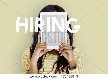 Business Job Hunting Hiring Words