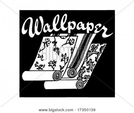 Wallpaper - Retro Ad Art Banner