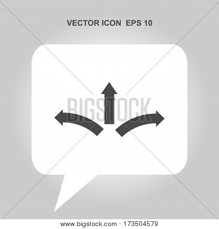 three-way direction arrow Icon, three-way direction arrow Icon Eps10, three-way direction arrow Icon Vector, three-way direction arrow Icon Eps, three-way direction arrow Icon Jpg, three-way direction arrow Icon Picture