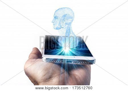 Phone And Head