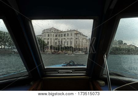 Bella island, Italy - 15 September 2013: The island of Bella on lake Maggiore in Italy