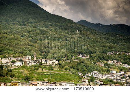 Romantic Lombardy Landscape