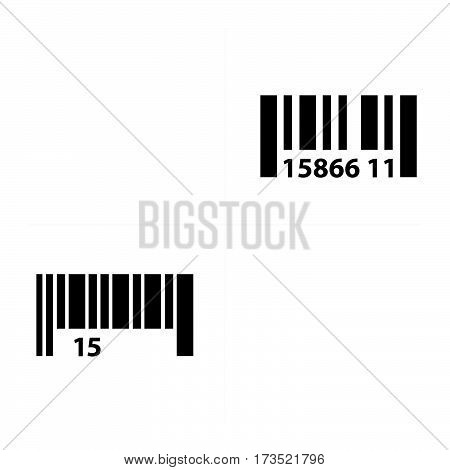 Barcode and QR Code Design vector design support eps10.