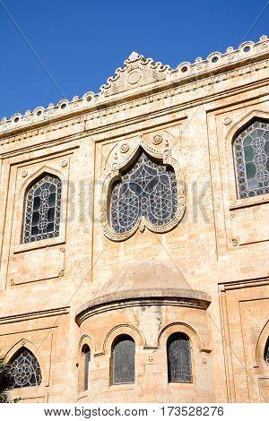 View of St Titus church in Pl Agiou Titou Heraklion Crete Greece Europe.