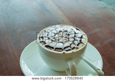 Hot coffee in morning time very well