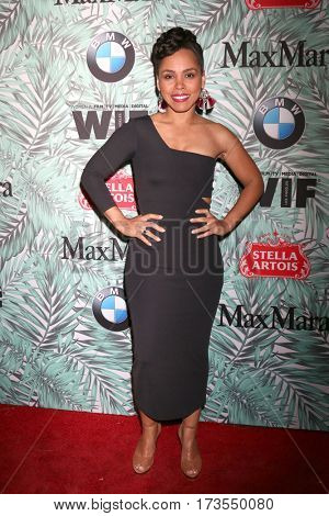 LOS ANGELES - FEB 24:  Amirah Vann at the 10th Annual Women in Film Pre-Oscar Cocktail Party at Nightingale Plaza on February 24, 2017 in Los Angeles, CA
