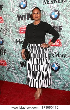 LOS ANGELES - FEB 24:  Ava DuVernay at the 10th Annual Women in Film Pre-Oscar Cocktail Party at Nightingale Plaza on February 24, 2017 in Los Angeles, CA