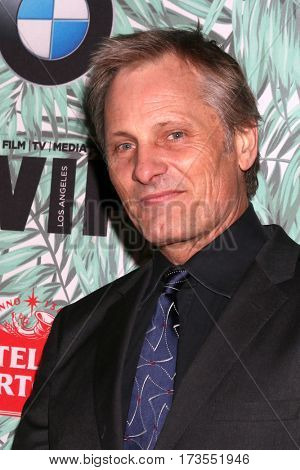 LOS ANGELES - FEB 24:  Viggo Mortensen at the 10th Annual Women in Film Pre-Oscar Cocktail Party at Nightingale Plaza on February 24, 2017 in Los Angeles, CA