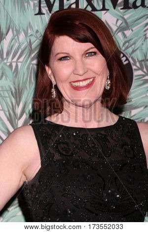 LOS ANGELES - FEB 24:  Kate Flannery at the 10th Annual Women in Film Pre-Oscar Cocktail Party at Nightingale Plaza on February 24, 2017 in Los Angeles, CA