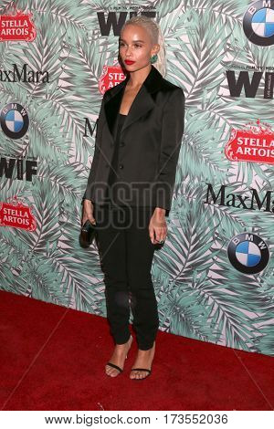 LOS ANGELES - FEB 24:  Zoe Kravitz at the 10th Annual Women in Film Pre-Oscar Cocktail Party at Nightingale Plaza on February 24, 2017 in Los Angeles, CA