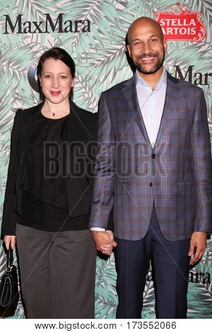 LOS ANGELES - FEB 24:  Guest, Keegan-Michael Key at the 10th Annual Women in Film Pre-Oscar Cocktail Party at Nightingale Plaza on February 24, 2017 in Los Angeles, CA