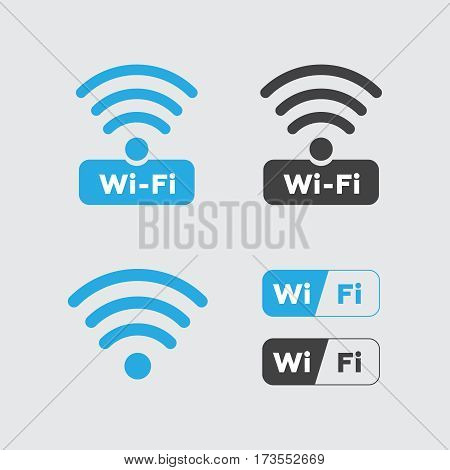 Wireless and wifi icons. Wireless Network Symbol wifi icon. Wifi icons