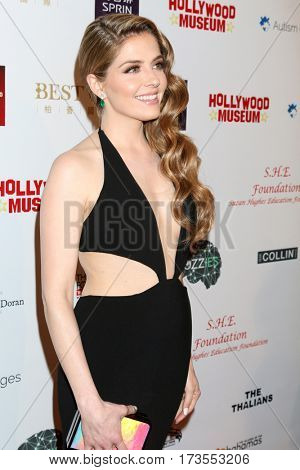 LOS ANGELES - FEB 26:  Jen Lilley at the Style Hollywood Oscar Viewing Dinner at Hollywood Museum on February 26, 2017 in Los Angeles, CA