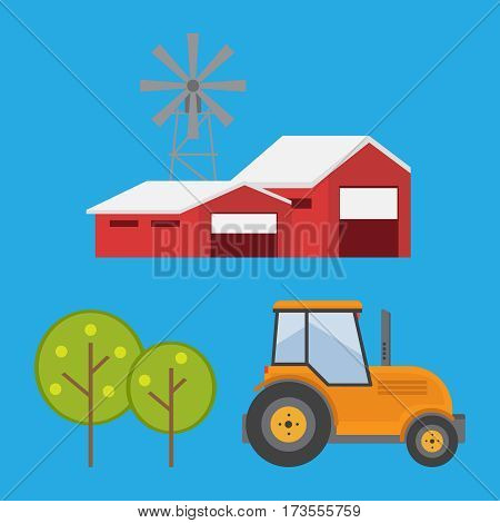Organic products. Agriculture and Farming. Agribusiness Rural landscape