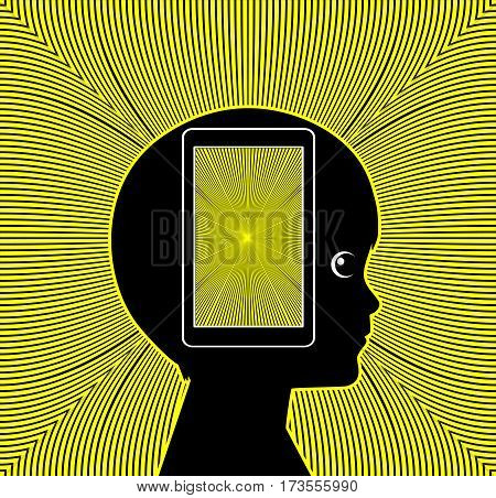 Mobile Phone Health Risk. Cell Phone radiation affecting the brain development of children