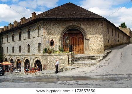 Upper Caravanserai In Sheki. Azerbaijan