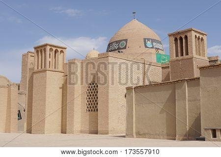 NAIN, IRAN - OCTOBER 10, 2016: Jame Mosque of Nain on October 10, 2016 in Iran, Asia