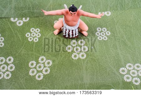 Sumo Wrestler Of The Figure