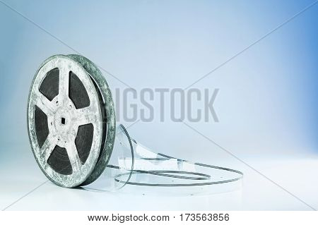 Film reel background with copy space, great as themed background