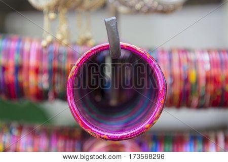 Pink Indian Bangles