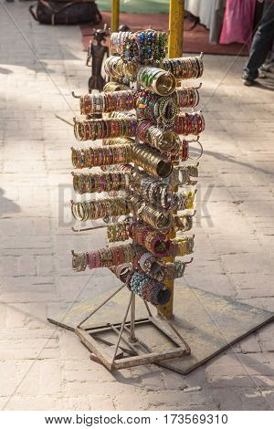 Indian Bangles Stand