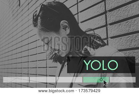 Yolo Dream Life Motivation Explore Adventure