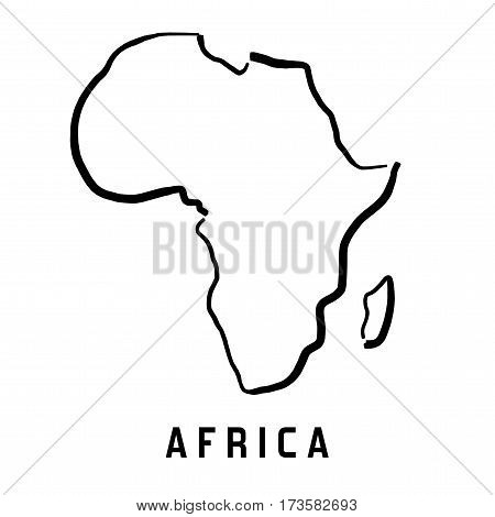 Africa Simple Map