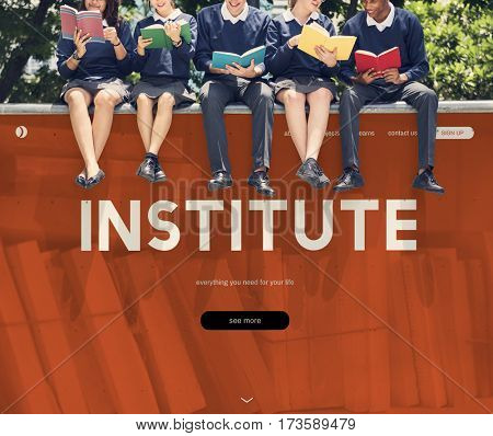 Distance learning online webpage interface