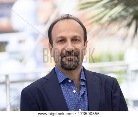 Ashgar Farhadi attends 'The Salesman (Forushande)' Photocall during the 69th Cannes Film Festival at the Palais on May 21, 2016 in Cannes, France.