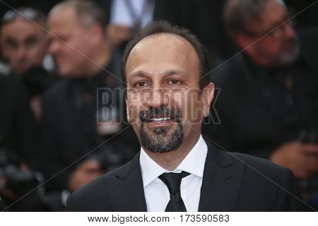 Asghar Farhadi attends 'The Salesman (Forushande)' Premiere during the 69th Cannes Film Festival at the Palais  on May 21, 2016 in Cannes, France.