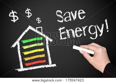 Save Energy - house or home with energy efficiency