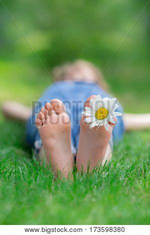 Happy Child Outdoors