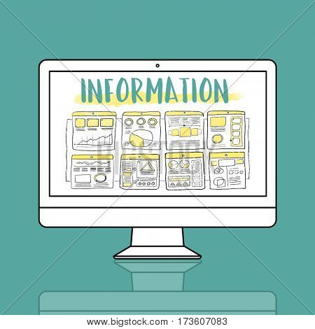 Data Information Graphic Concept
