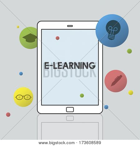 E-Learning Education Academics Knowledge Concept