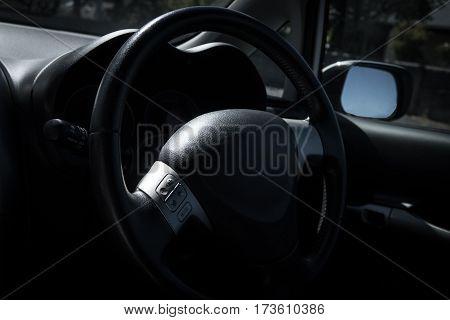 Car Interior And Dashboard