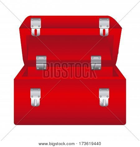 red box tools open icon, vector illustraction design