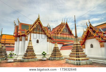 Wat Pho, a Buddhist temple complex in Bangkok - Thailand