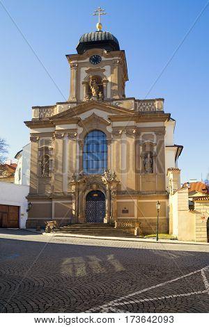 Church Of St. John Of Nepomuk, Prague