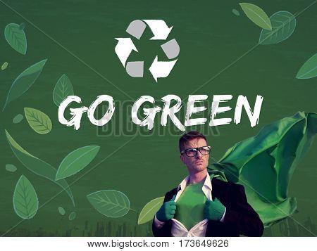 Environment Go Green Organic Save Earth Icon