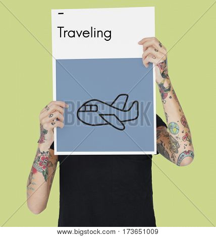 Airplane Flight Transportation Trip Destination Tour